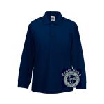 Grove Hunt Pony Club Kids Long Sleeve Polo Shirt