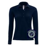 Grove Hunt Pony Club Ladies Long Sleeve Polo Shirt
